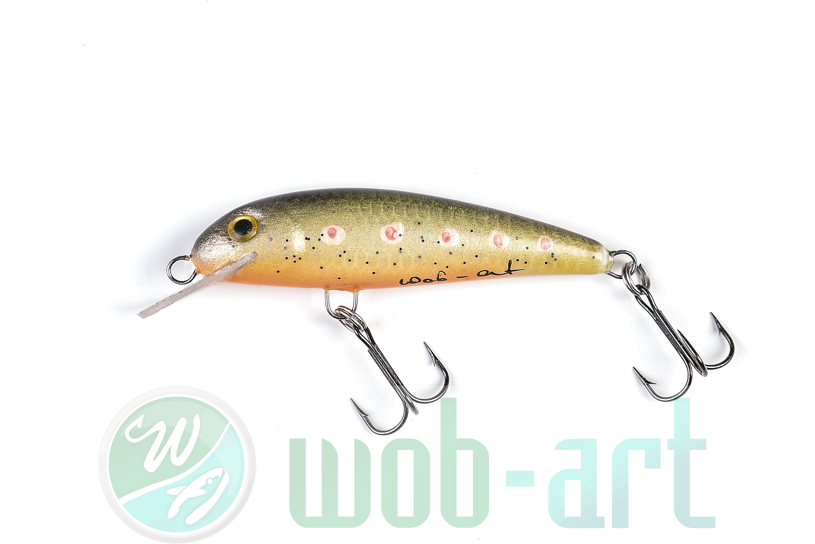 brown trout minnow | fishing store, Fly Fishing Bait